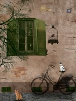 Altes Haus - Old house by rembrantt