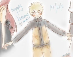Happy Birthday Naruto by lilclone-riku