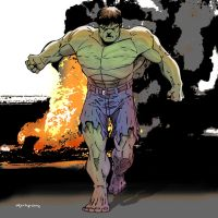The Hulk by arunion