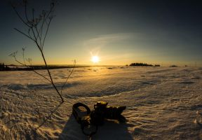 Snow with Camera by Sulde