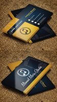 Free Music Business Card PSD Template by Designslots