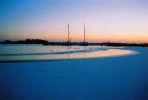 Analoge: Winter Marina by Photopathica