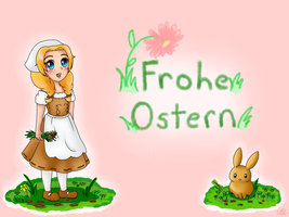 Frohe Ostern : Happy Easter by TropicalSnowflake