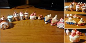 Foodie Charms by shanuja