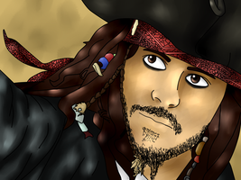 capitain Jack Sparrow by CattivissimaMe