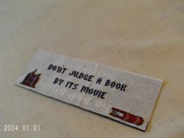 Book Lovers Bookmark by agorby00