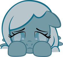 Sad Snowdrop by LunaBubble-Ede96