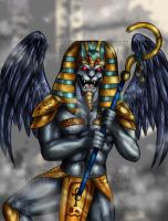 King Sphinx MMPR by blueliberty