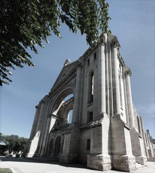 Saint Boniface Cathedral 11 Picture Panorama by Joe-Lynn-Design