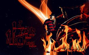 Freddy-Krueger_wallpaper by MasterKenny