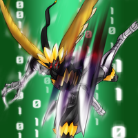 Digimon Frontier Tuned - TenguLeomon by plzgaiasrebirth