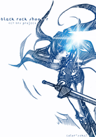 BRS Cast - Light Series: Black Rock Shooter by color-sekai
