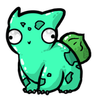 Pokederp - 001 Bulbasaur by huskyapocalypse
