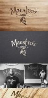Maestros Classic Logo and Label Design by Lemongraphic