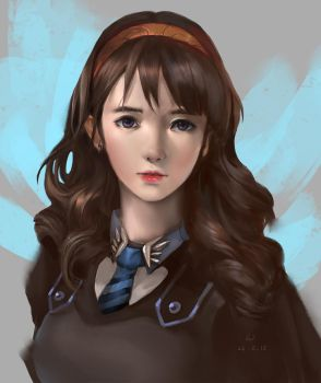 ChoChang of Ravenclaw house by windboi