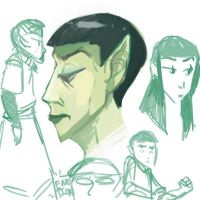 Vulcan Sketches by selonian