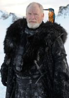 Jeor Mormont and His Daemon by LJ-Todd