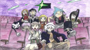 Soul Eater at the cinema by hoshinoame