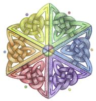 Prism Star Knotwork  by Spiralpathdesigns