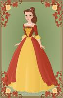 Belle { Christmas Dress } by kawaiibrit