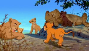 The Lion family is together by 95JEH