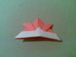Origami: Samurai Helmet by saria-the-elf