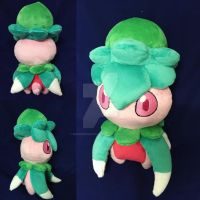 Fomantis Custom Plush by BeeNerdishCrafts