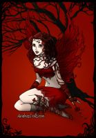 Blood Faery by BritishFaery