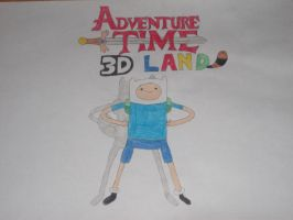 Adventure Time 3D Land by rabbidlover01