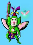 Warrior Tingle - closeup by theunknown1