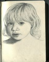 Toddler portrait by AaronQuinn