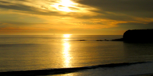 TPM Icon Ocean Sunset by OneofakindKnight