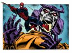 Colours on Baskerville's Spiderman V Bludgeon by hellbat