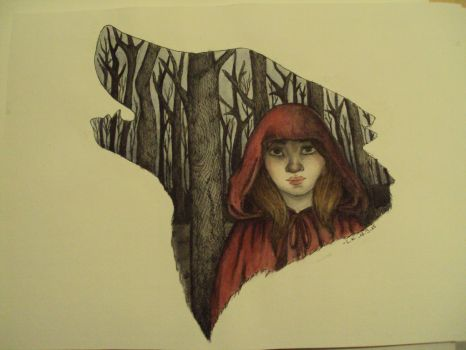 Le petit chaperon rouge by Resumption