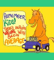 a message from Harold the Horse by Dememty