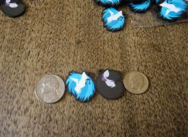 Now for Sale! -Vinyl Scratch and Octavia Charms by Enuwey