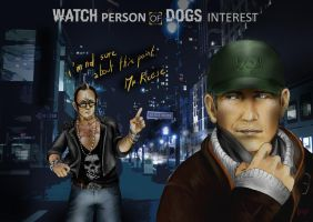 WATCH PERSON OF DOGS INTEREST by Viny-Kun