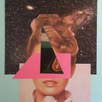 Untitled Analog Collage 2015  by v100d