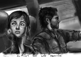 On the move Last of Us by SkaraManger