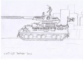 LWT-09 Pathfinder Laser  Tank by Target21