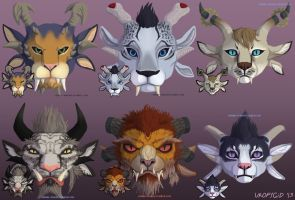 Charr icons by uropygid