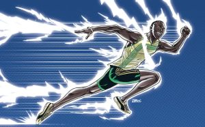 Usain Bolt by fabioredivo