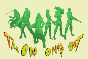 Comm:: Odds Ones Out Graffiti art by upshdragoon