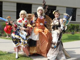 Anime North 2012 - Steampunk Group by TehTig3r