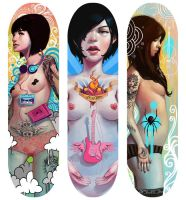 Skatedeck Designs by Rudeone