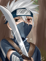 Little Kakashi by ChibiDoodlez
