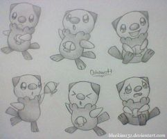 Oshawott by Bluekiss131
