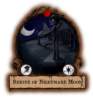 Shrine of Nightmare Moon - Gameboard by Konsumo