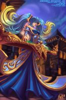 Sona LOL by Knockwurst