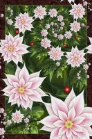 Christmas Poinsettias   2010 by Shadoweddancer